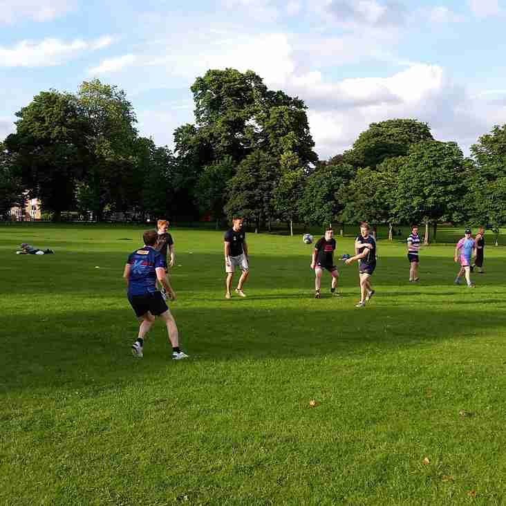 Play touch rugby on Peckham Rye over summer!