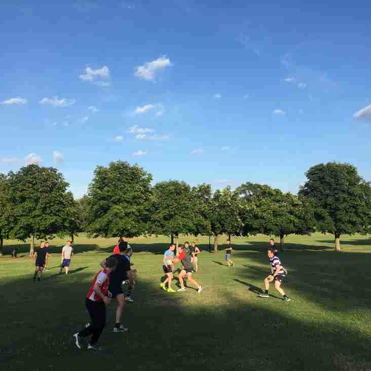 Pre-season 17/18 and summer touch arrangements