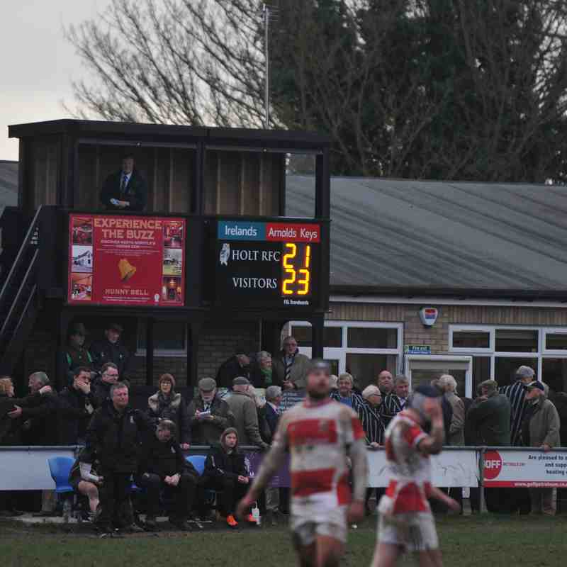 4th March 2017 Holt 1st vs. Epping Upper Clapton 1st