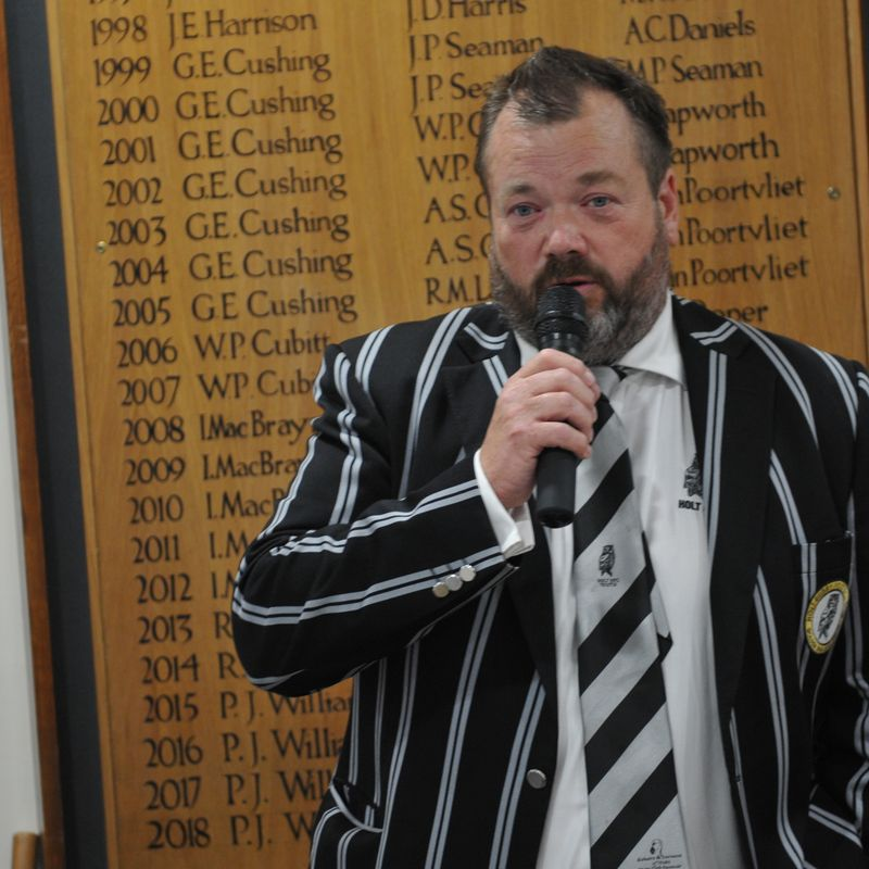 Would you like to own a Holt RFC club blazer?