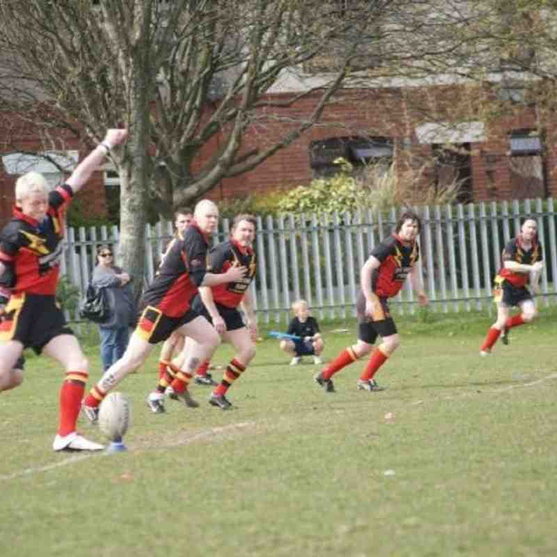 Brighouse Rangers 2nds vs Westgate Wolves 17/04/2010