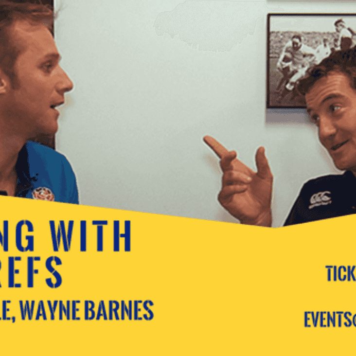 An evening with the Premiership Refs