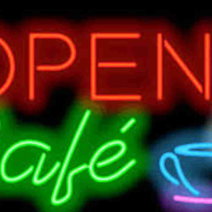 Saturday Cafe Opening