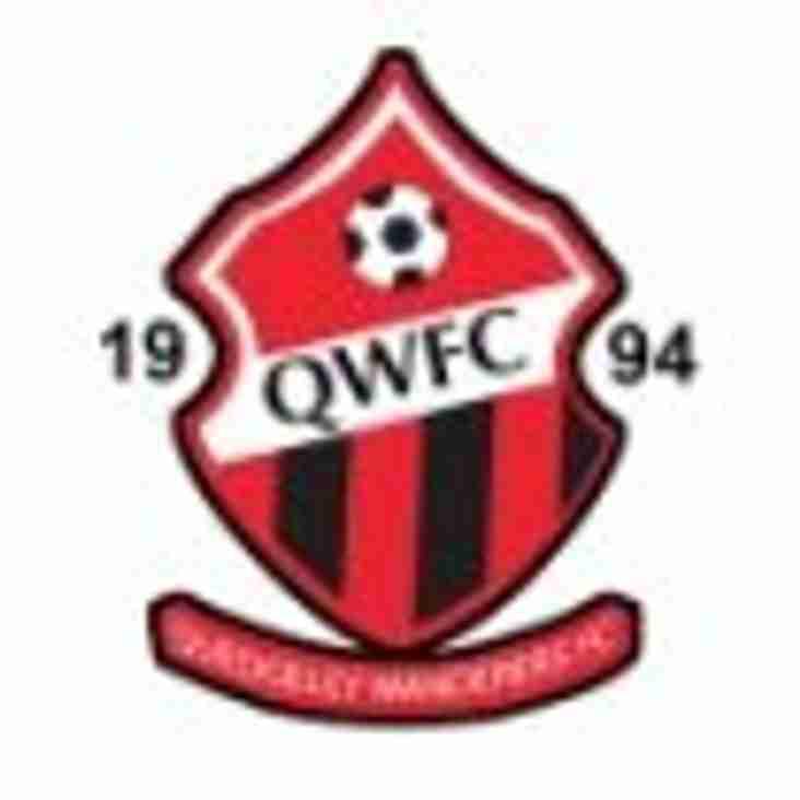 QWFC Senior Fixtures 2018-2019