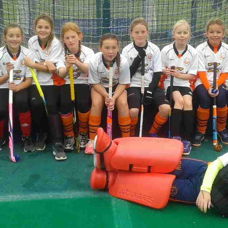 U11 Girls Beat the Clock
