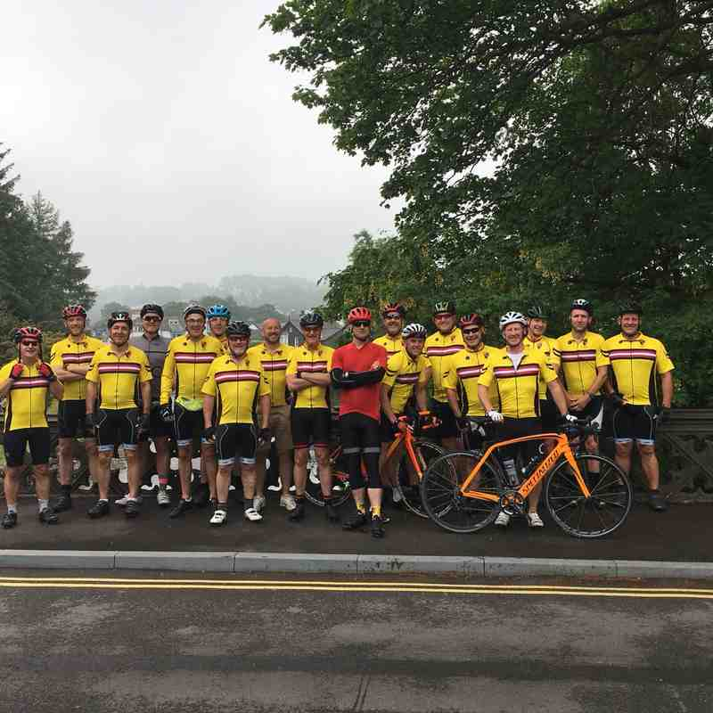 Cycling Club Lakes Trip 2018