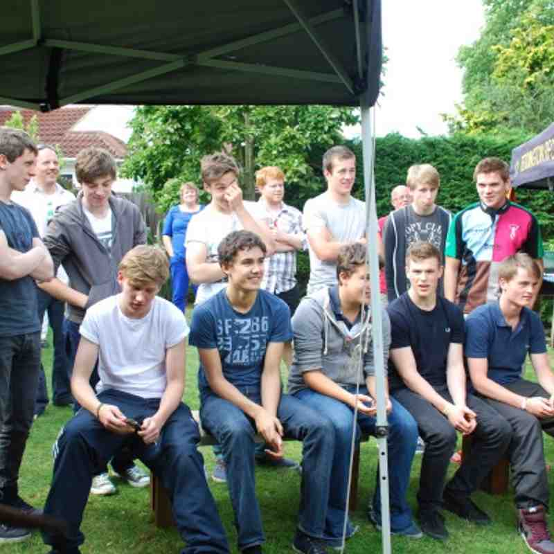 U17 Awards BBQ June 2012