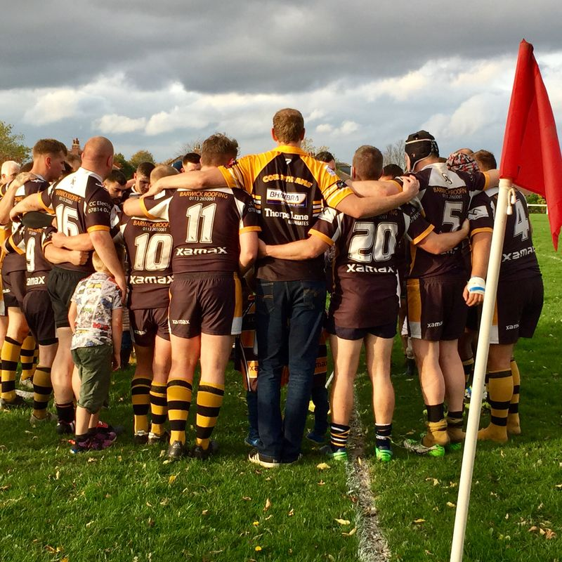 Corinthians march on with dominant victory against Thirsk 50-3