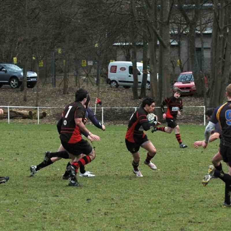 1st XV v Gordonians - 2010