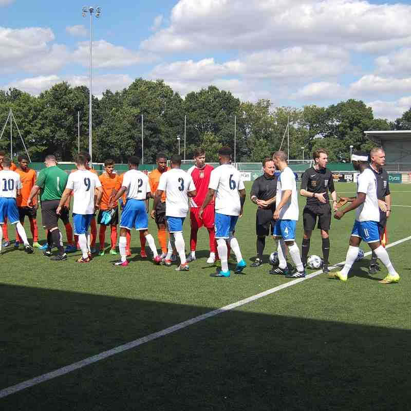 Enfield v Tower Hamlets FA Cup EPR 07.08.16.