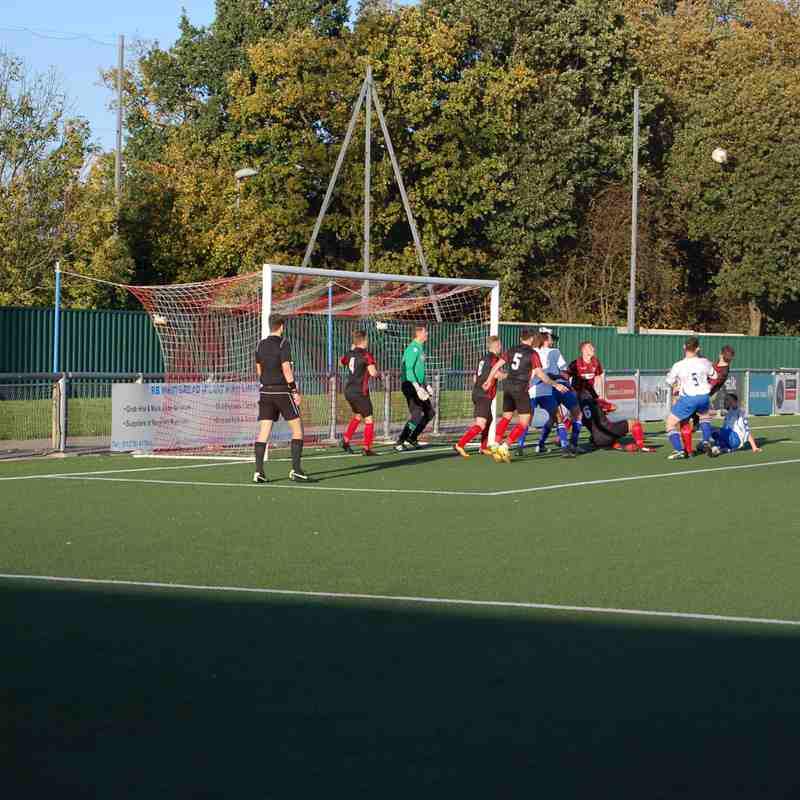 Enfield v Coggeshall Town FA Vase 1st Rd 22.10.17.