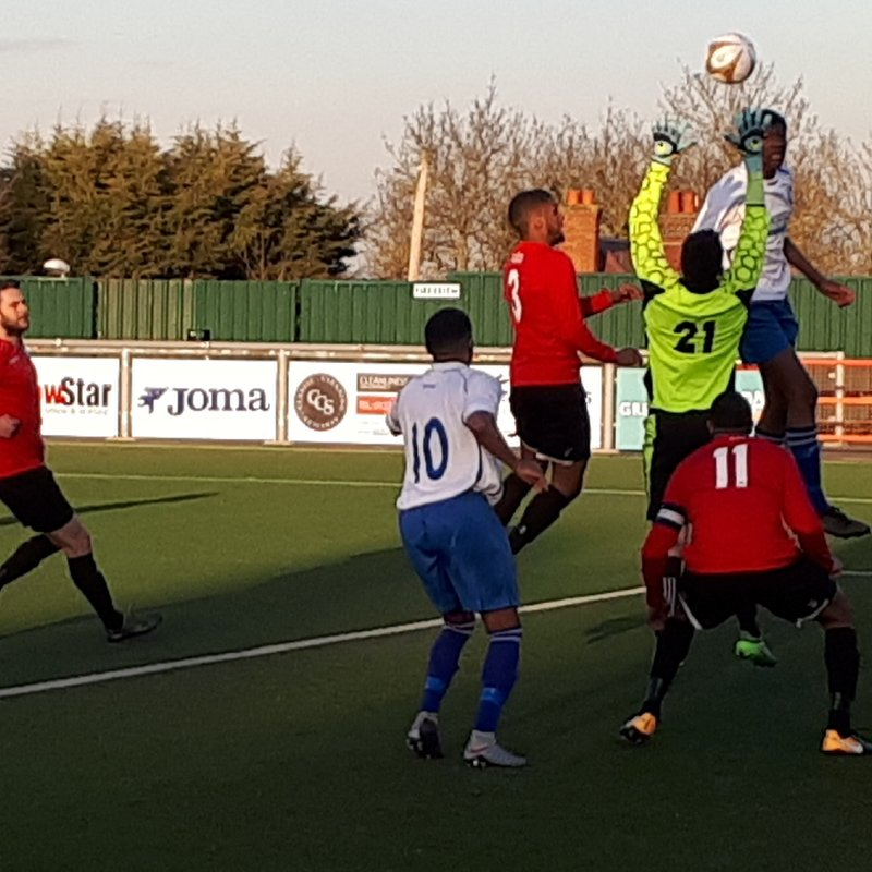 Enfield FC lose to Stansted 1 - 0