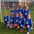 Farsley Celtic Girls Under 9's in Tournament Action