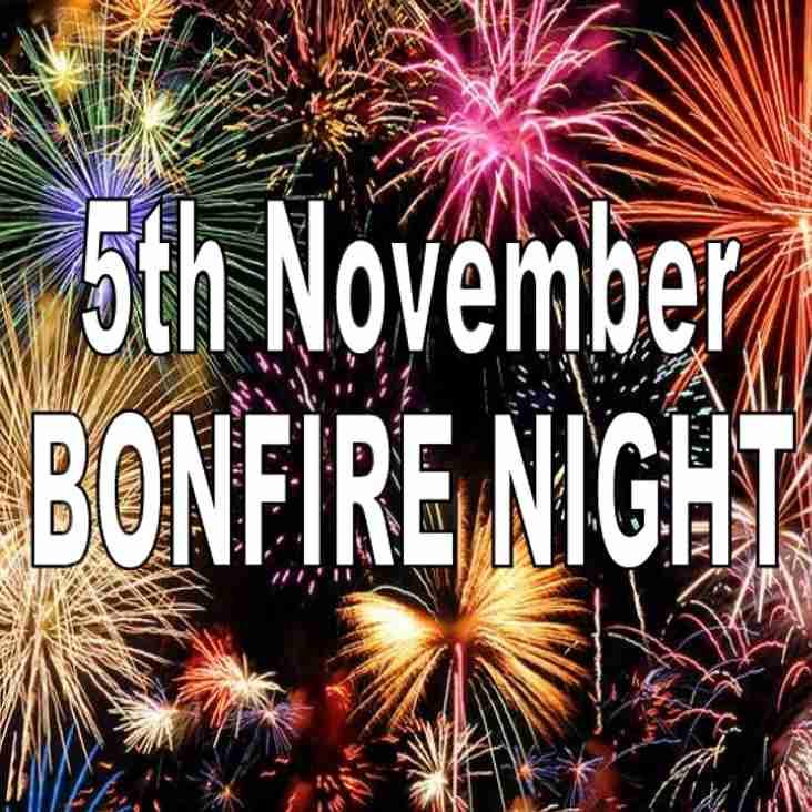 Farsley Community Bonfire @ Throstle Nest - SUNDAY 5th NOVEMBER