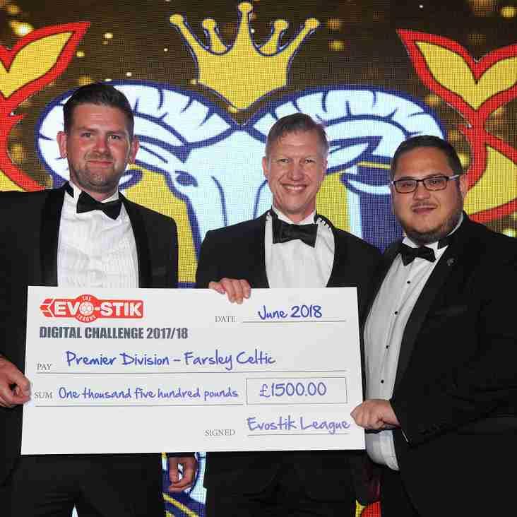 Celts awarded Evo-Stik NPL Digital Challenge prize