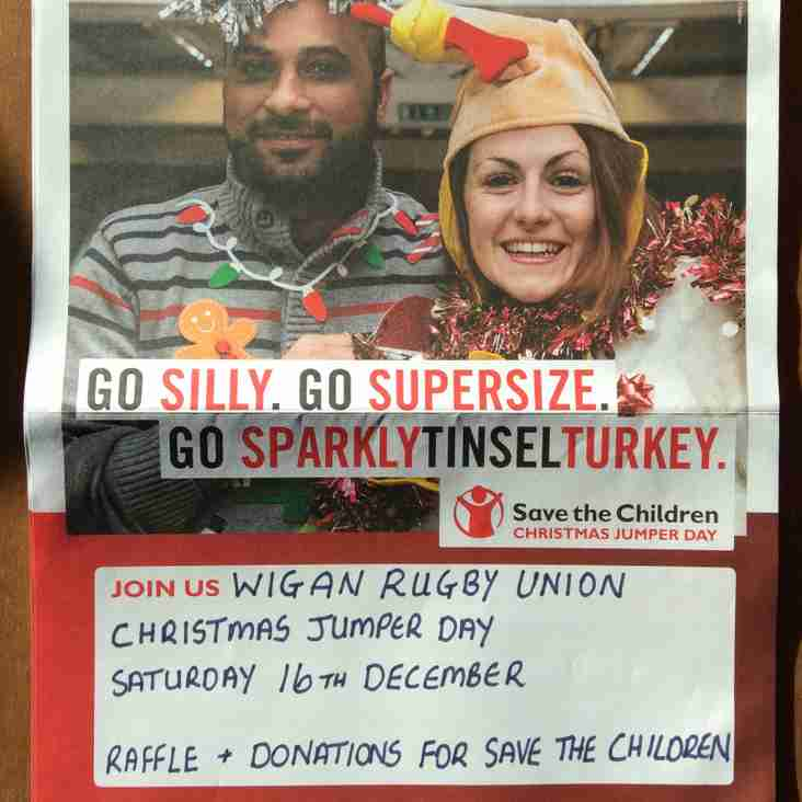 Save the Children Christmas Jumper Day - Saturday 16th December