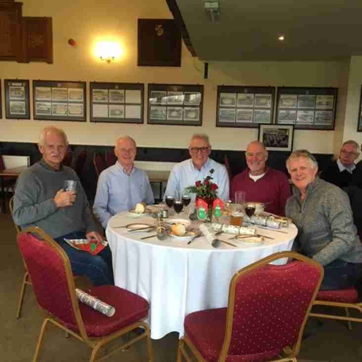 Former players Xmas lunch