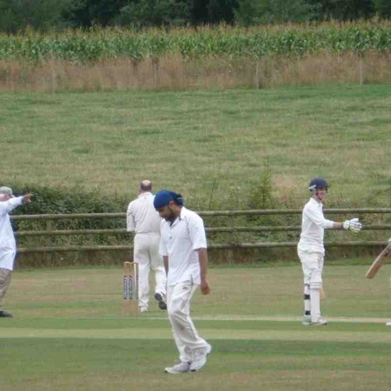 Hursley Park IV vs Trojans III 24/8/13