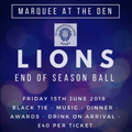 **End of season ball**