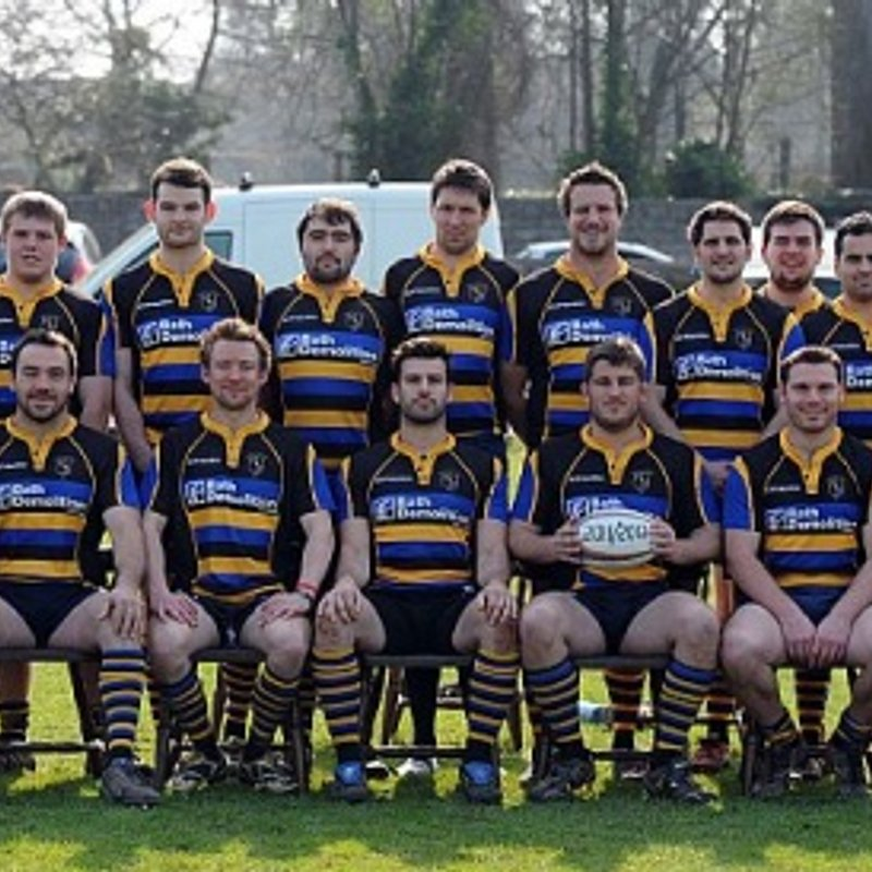 1st Team lose to Minehead Barbarians 65 - 5