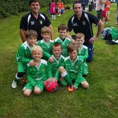 AUJFC Under 7s at Widmer End Tournament