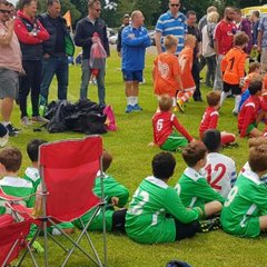 AUJFC Under 7s at Widmer End Tournament