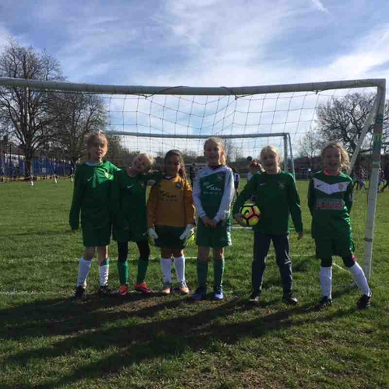 U9s at Middlesex FA Development Tournament 25/03/17