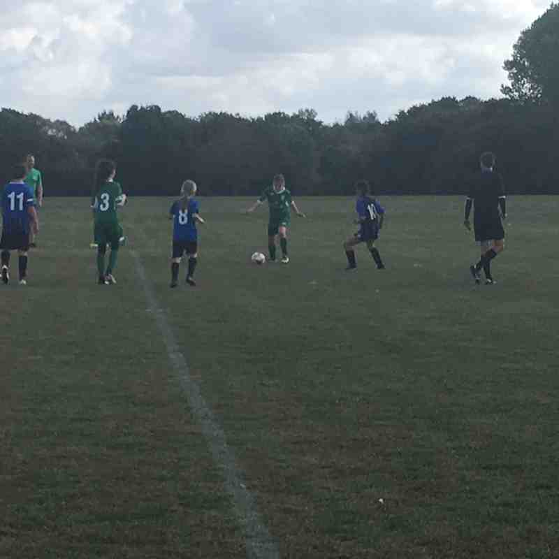 U12 greens home v Bedford Sept 2018
