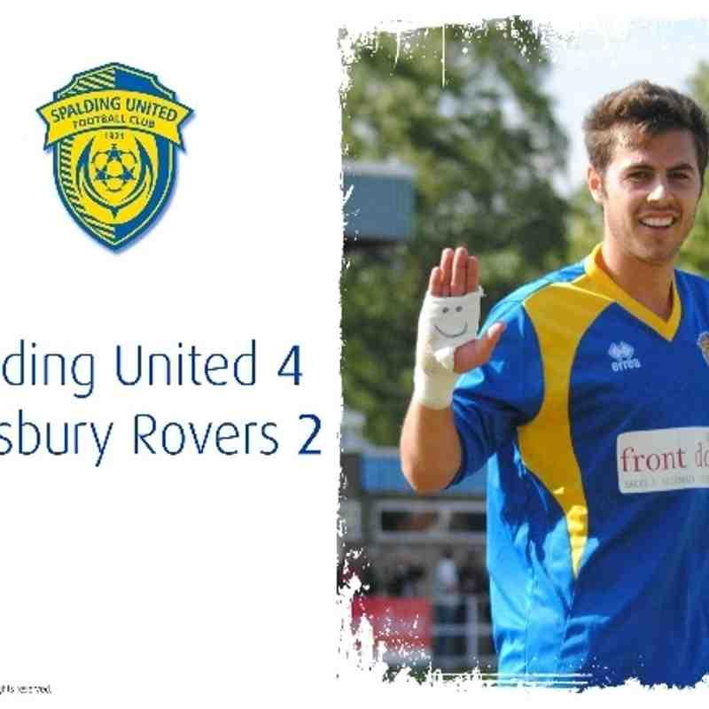 2013/14 : SUFC v Eynesbury Rovers (17.08.13)