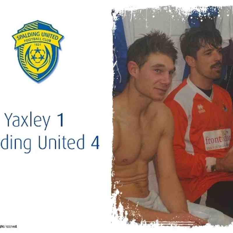2013/14 : Yaxley v SUFC (23.11.13)