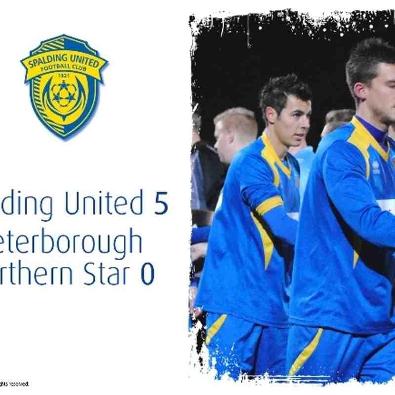 2013/14 : SUFC v Peterborough Northern Star (10.12.13)
