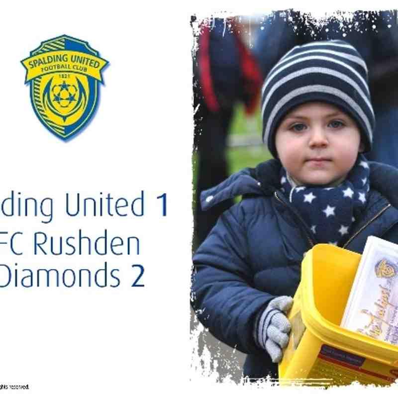 2013/14 : SUFC v AFC Rushden & Diamonds (14.12.13)