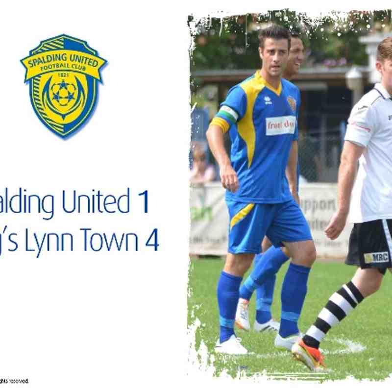 2014/15 : SUFC v King's Lynn Town (19.07.14)