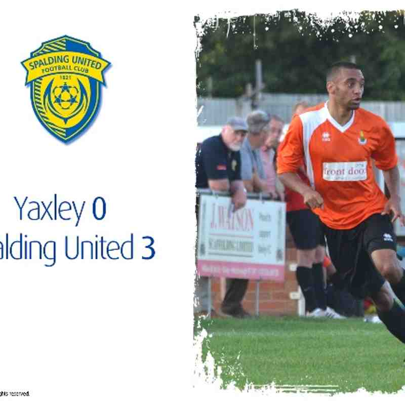 2014/15 : Yaxley v SUFC (24.07.14)