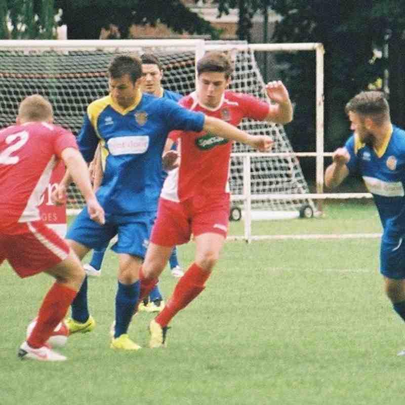 2014/15 : SUFC v Wisbech Town (02.08.14)