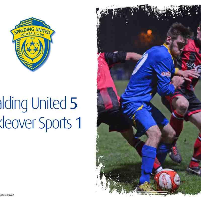 2014/15 : SUFC v Mickleover Sports (11.11.14)