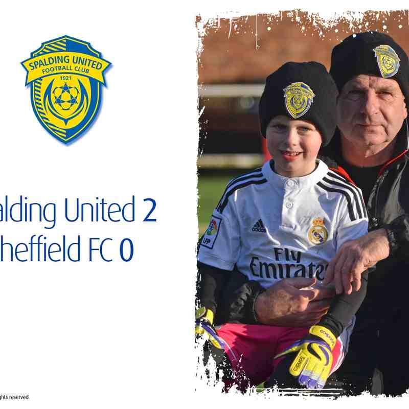 2014/15 : SUFC v Sheffield FC (10.01.15)