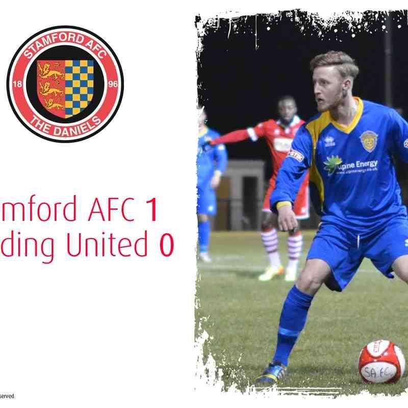 2014/15 : Stamford AFC v SUFC (27.01.15)