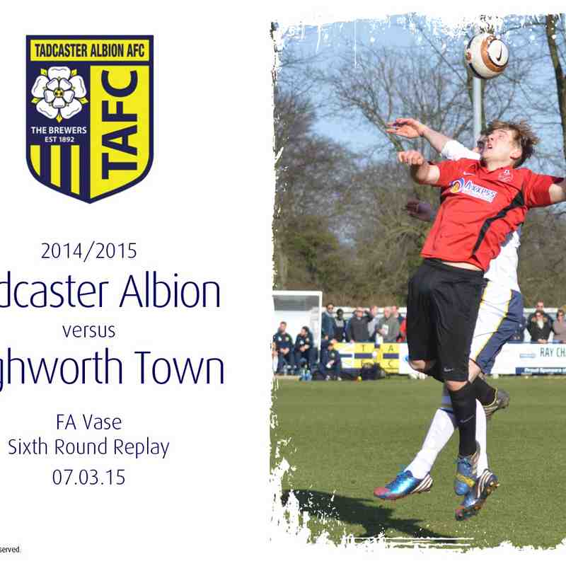 2014/15 : Tadcaster Albion v Highworth Town (07.03.15)