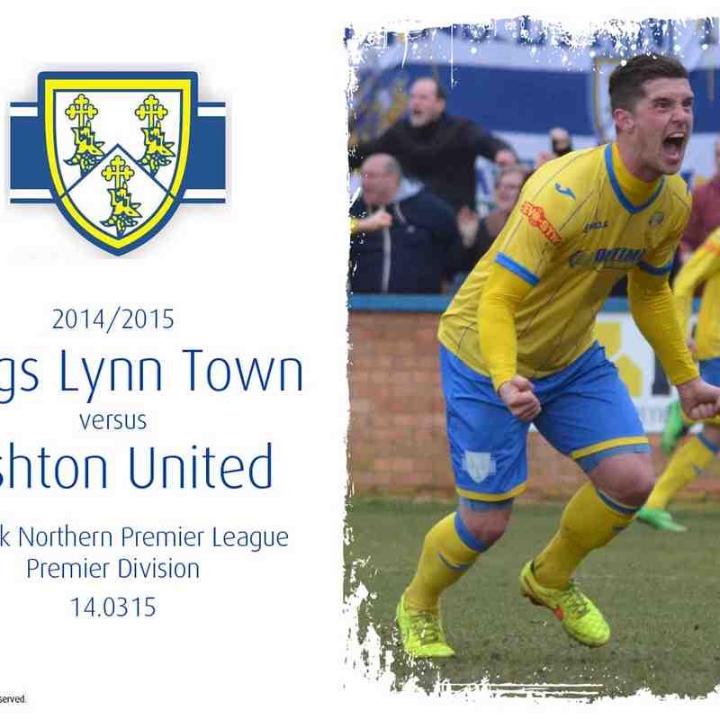 2014/15 : King's Lynn Town v Ashton United (14.03.15)