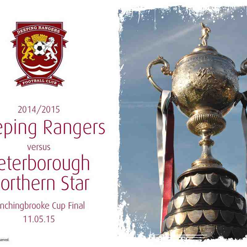 2014/15 : Deeping Rangers v Peterborough Northern Star (11.05.15)