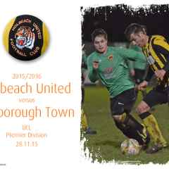 Photos: Tigers v Harborough Town