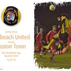 Photos: Tigers v Boston Town