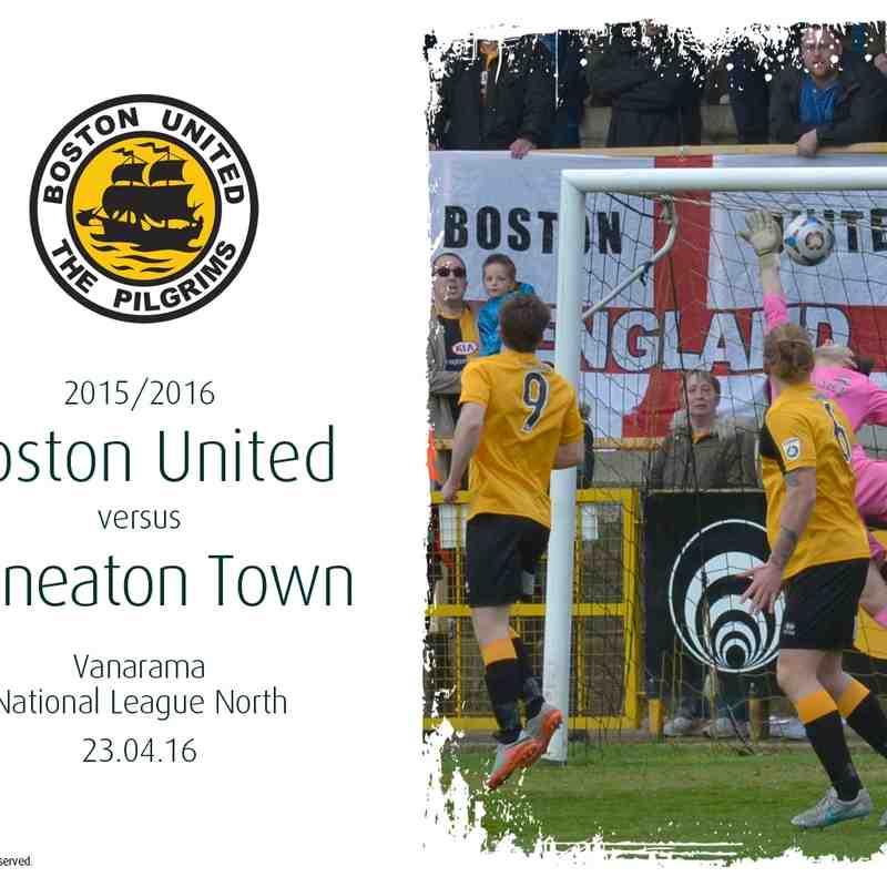 2015/16 : Boston United v Nuneaton Town (23.04.16)