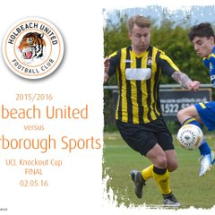 2015/16 : Holbeach United v Peterborough Sports (02.05.16)