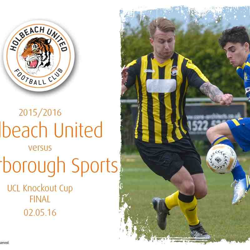 2015/16 : Holbeach United v Peterborough Sports (02.05.16)