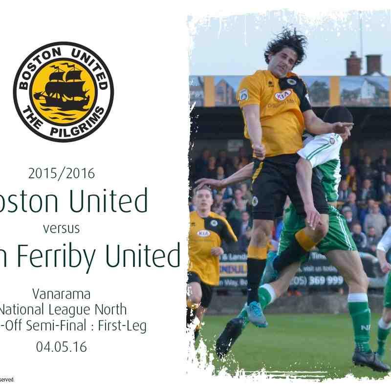 2015/16 : Boston United v North Ferriby United (04.05.16)