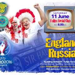 Join Us For Euro 2016 This Saturday