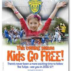 Youngsters Go Free In 2016/17