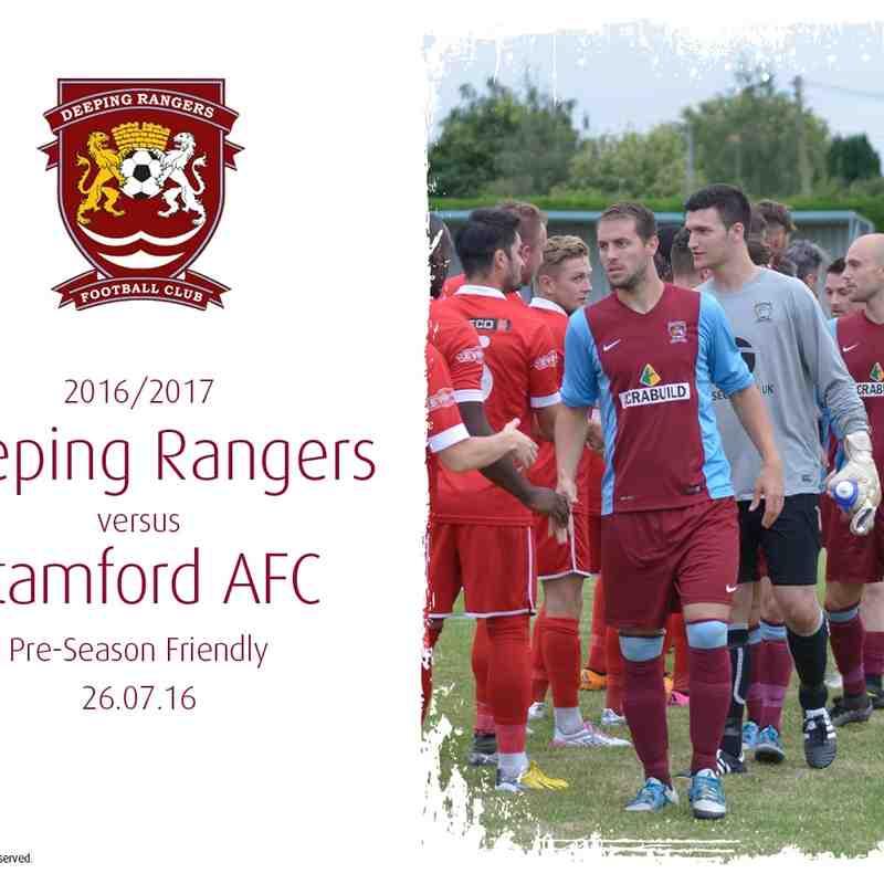 2016/17 : Deeping Rangers v Stamford AFC (27.07.16)